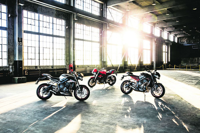 New Triumph Street Triple Set To Make Uk Debut At Mcn London Motorcycle Show