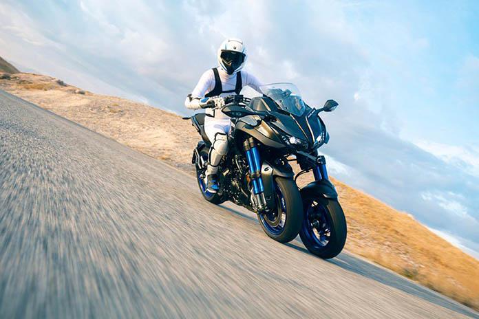 New Yamaha Niken. Ride The Revolution.