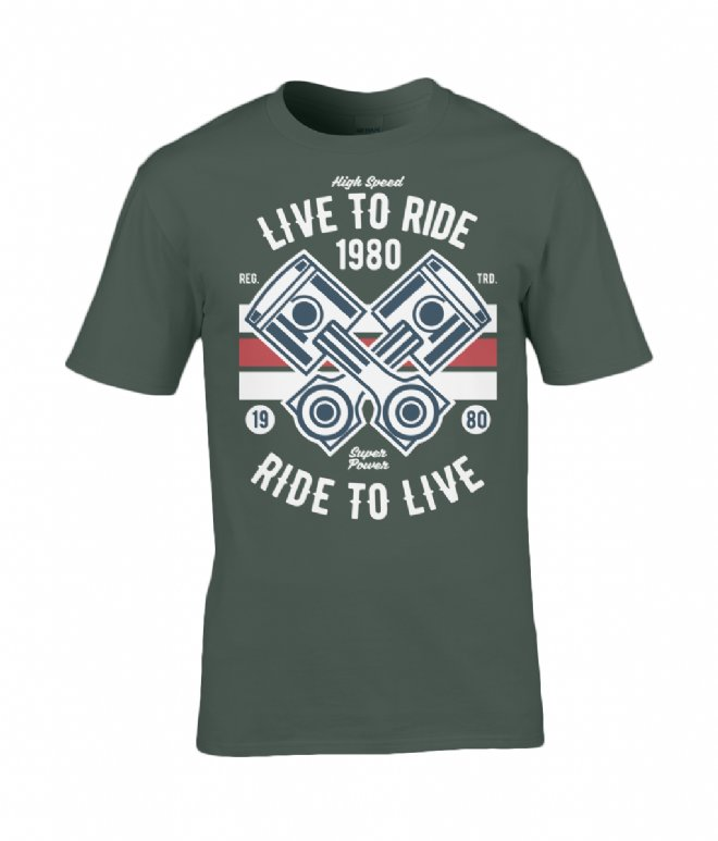 Now Available Online T-shirts For The Biker Enthusiasts Around The World