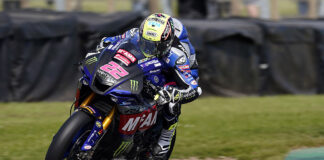 O'halloran Steals Top Spot From Mackenzie In Final Official Test Ahead Of Season Opener