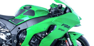 R&g Goes Green With All-new Zx-10r And Zx-10rr Range
