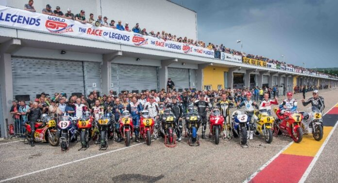 Record Crowd Of Over 30,000 Thrilled By World Gp Bike Legends At Adac Sachsenring Classic