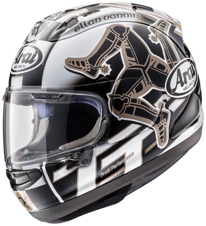 Revealed Arai Rx-7v Iom Tt 2017 Ltd Edition Helmet