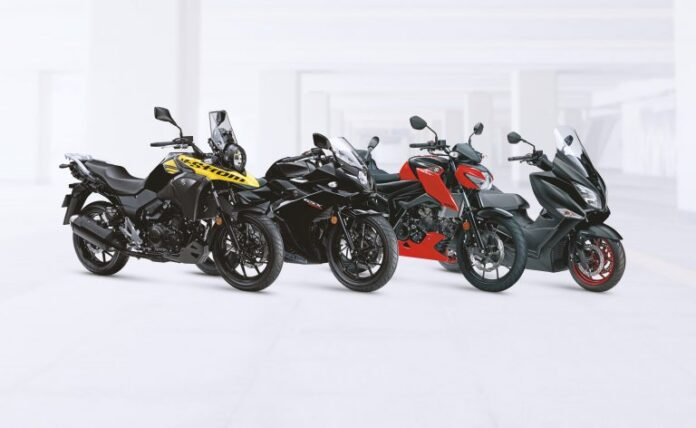 Suzuki Launches Extended Small Capacity Lineup In Milan