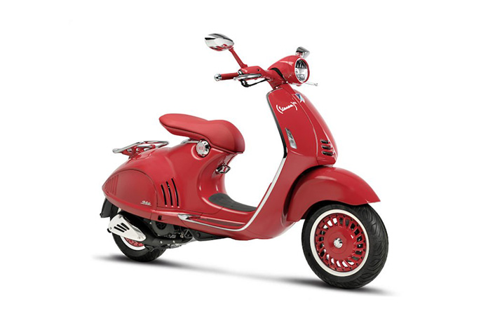 The Piaggio Group And (red) Together In The Battle Against Aids