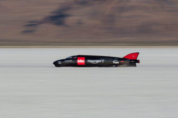 Triumph Infor Rocket Streamliner Becomes The Fastest Ever Triumph On The Bonneville Salt Flats