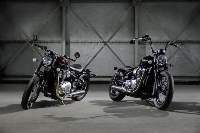 Triumph's Bonneville Bobber And Street Scrambler Hits Dealers