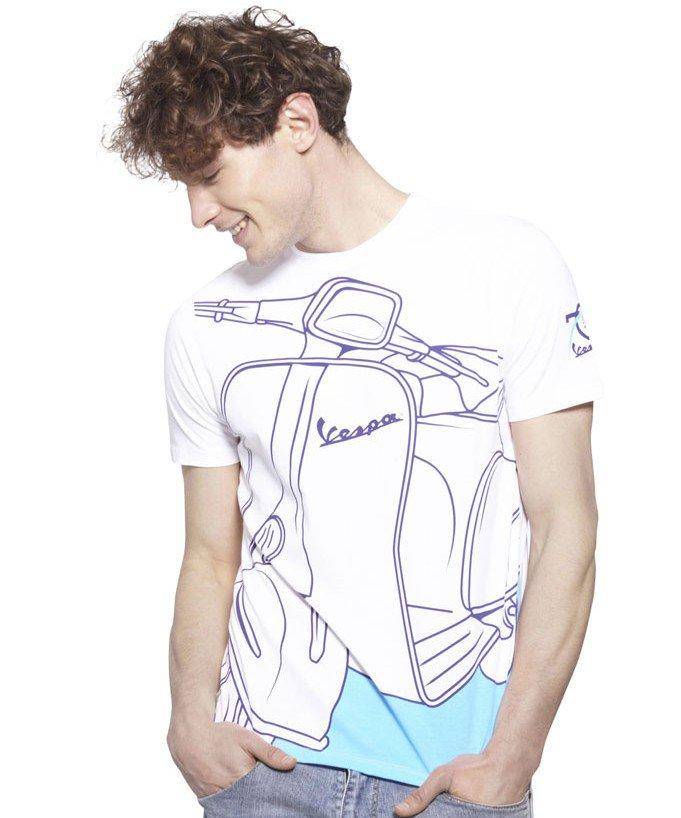 Vespa Young Collection T-shirt And Mug