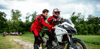 The Multistrada 1200 Enduro Experience Comes To The Uk And The Touratech Travel Event