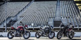 Triumph's New Street Triple Range Set For Uk Public Debut