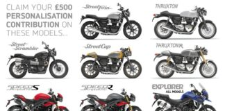 Triumph Motorcycles Launches National Demo Ride Week