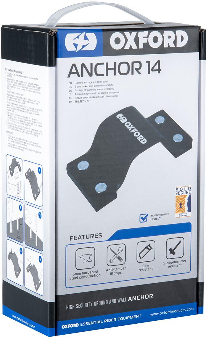 Oxford Anchor14 Ground & Wall Anchor Kit