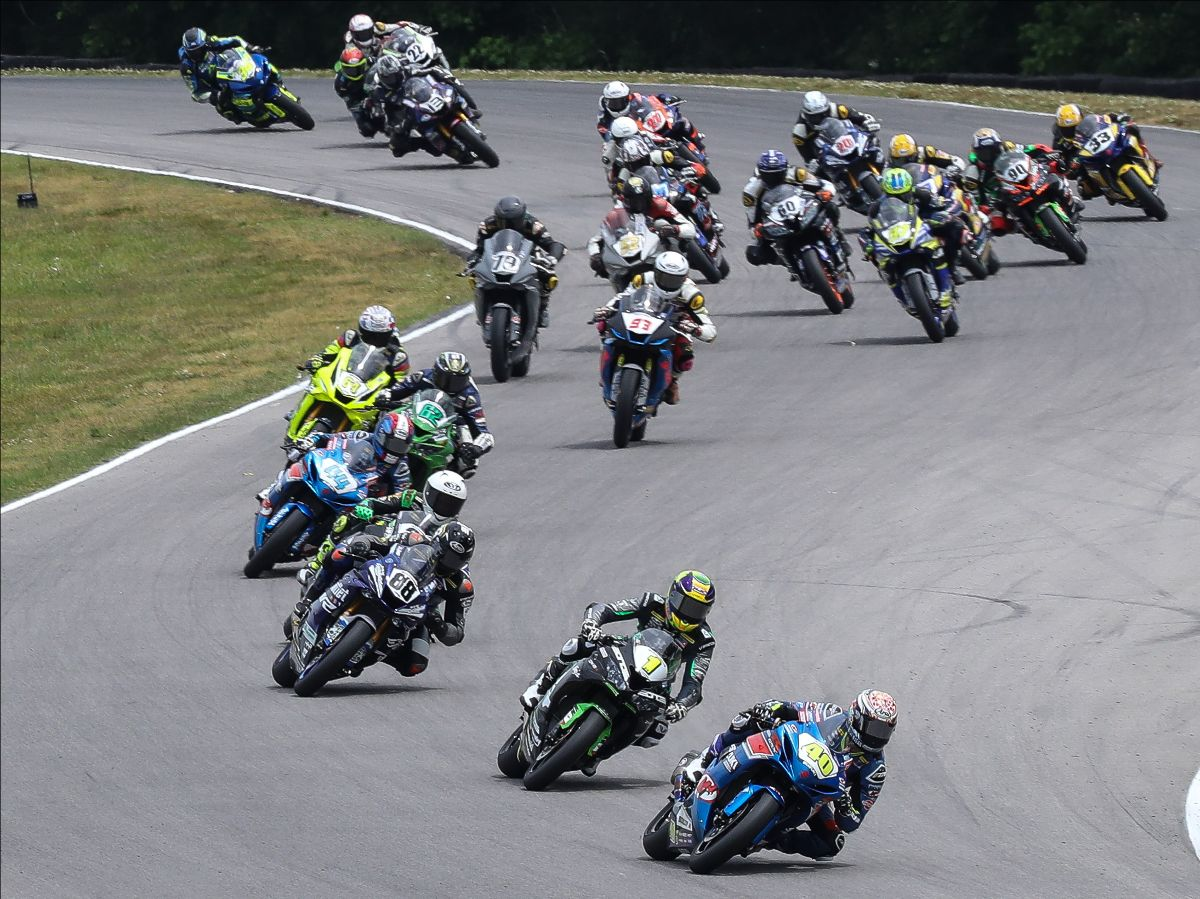 It's All Action For Road America This Weekend With Motoamerica In Town
