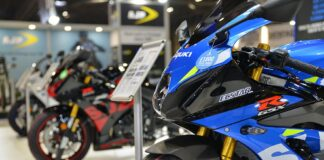 Suzuki Displays New Colours For 2020 Range At Motorcycle Live