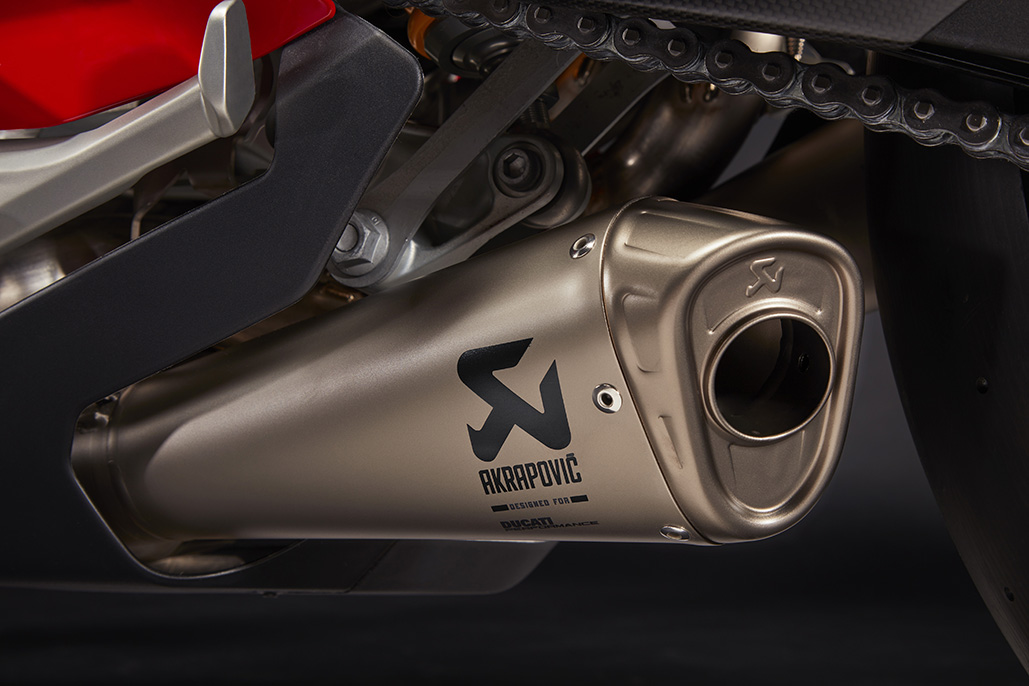 The Panigale V4 Is Ready To Compete On Any Circuit With Ducati Performance Accessories