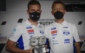 Number 50 Retired From Moto3