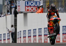 Gardner Imperious To Make Some Moto2 History In Germany