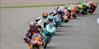 Acosta vs Assen Moto3 takes on the Cathedral 01