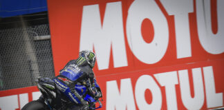 Clean sweep Vinales fastest in both sessions on Friday 01