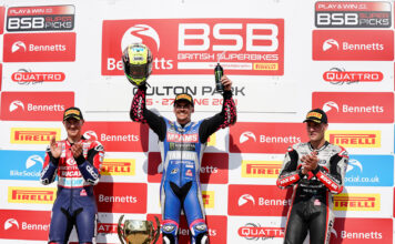 First blood to OHalloran in season opening Bennetts British Superbike race 01