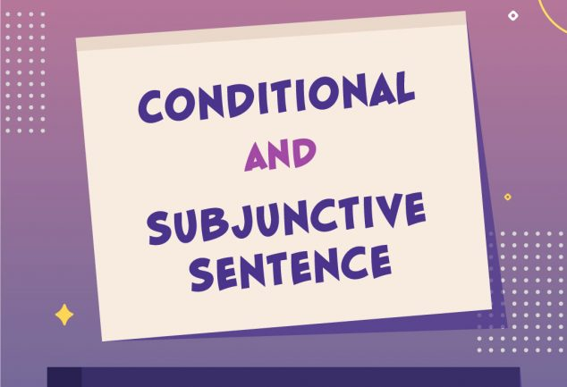 Conditional and Subjunctive Sentence 2