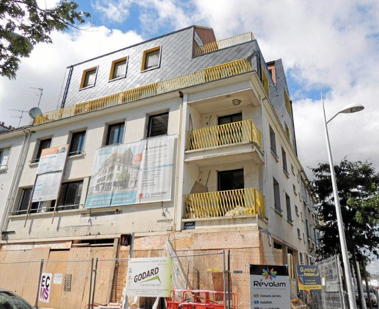 Rénovation immeuble le Guérandais - Saint-Nazaire