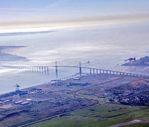 Côte atlantique : pont de saint nazaire