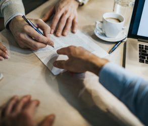 Signature crédit immobilier banque