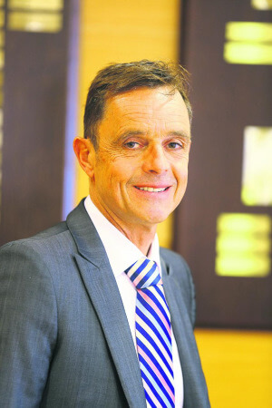 Maître Olivier Gautier, président de la Chambre des notaires du Finistère