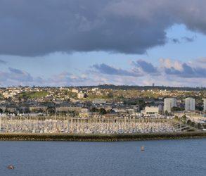Cherbourg port et ville