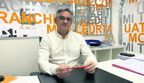 Hervé Rousseau, directeur de l'agence Meilleurtaux.com