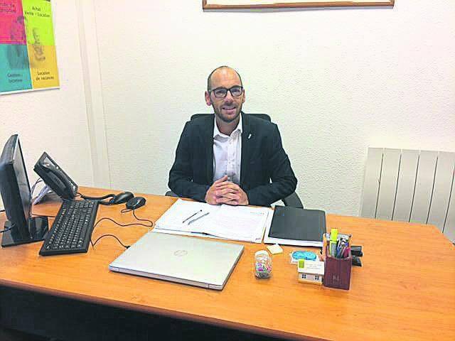Franck Pivette, responsable de Square Habitat de Vannes et Auray