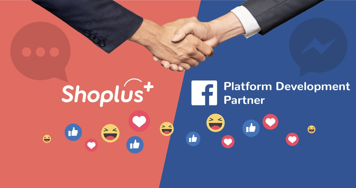 Shoplus x Facebook Partnership Banner