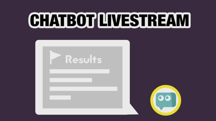 livestream và chatbot kết hợp với nhau