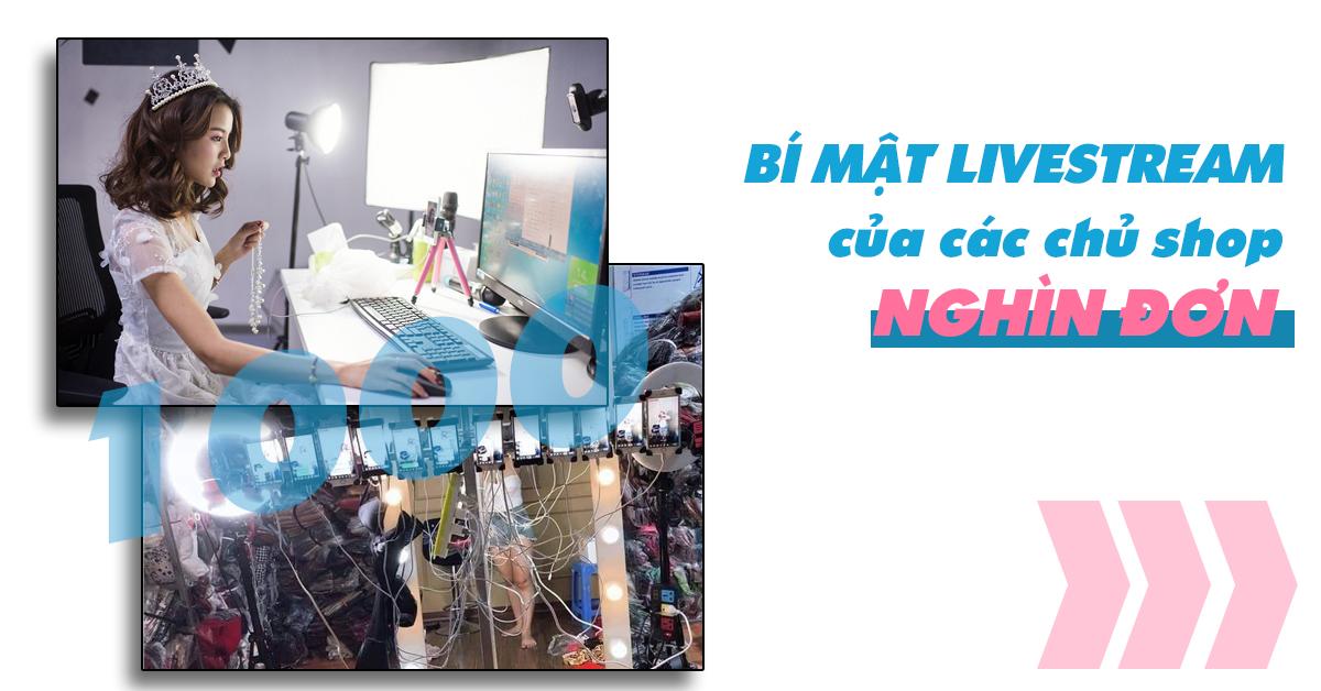 banner bí mật livestream