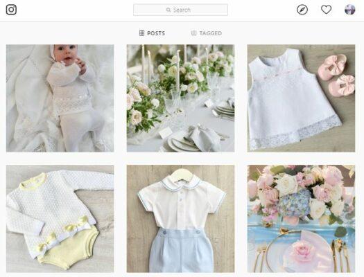 bán quần áo trẻ em trên IG
