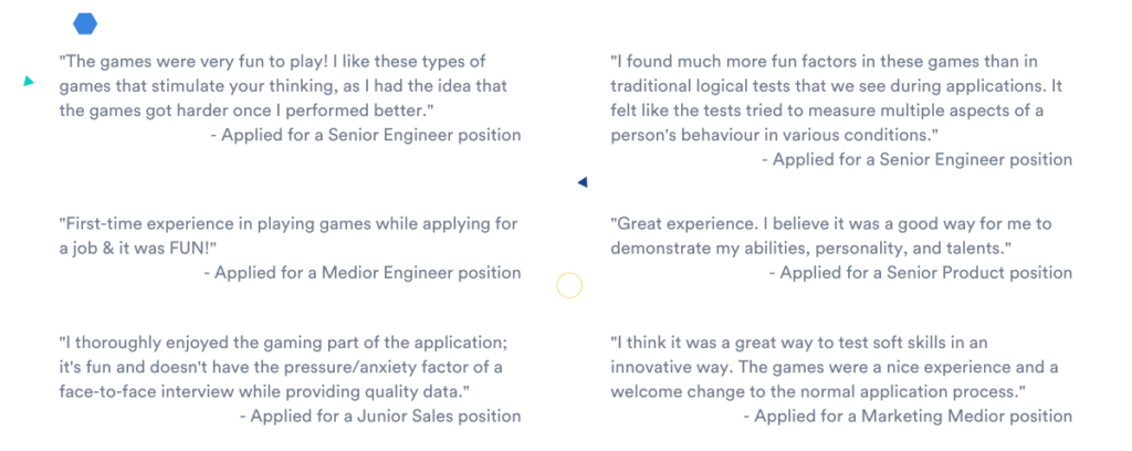 candidate experience quotes