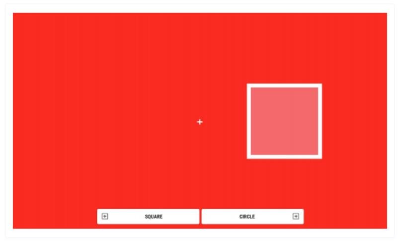 This visual shows a game that measures someone's individual emotional and behavioural control.