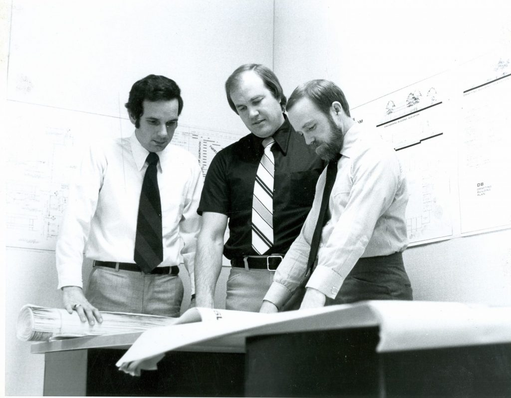 ARCON was founded by William R. Olson, Dennis E. Kajmowicz, and Stephen R. Mulvihill