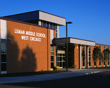 Leman Middle School in West Chicago ESD 33 wins Outstanding Project from Learning by Design Magazine