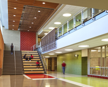 Schrum Memorial Middle School in D157 wins Outstanding Project from Learning by Design Magazine