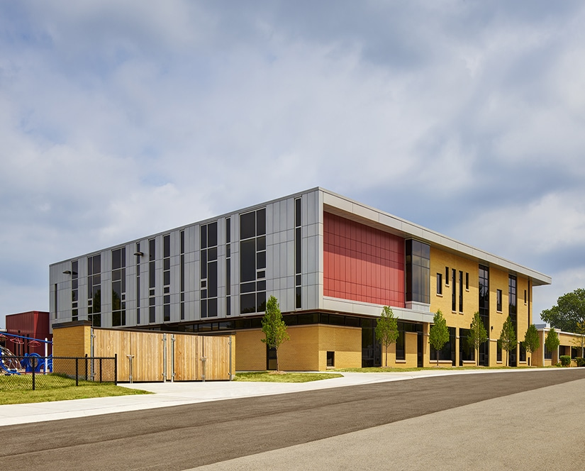 Holmes Primary School in Maercker SD 60 wins Award of Merit from IASB Educational Environments Exhibition