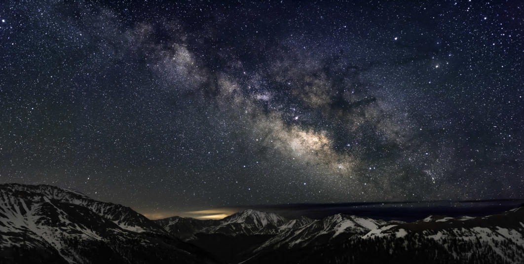 The Milky Way, Independence Pass, Colorado