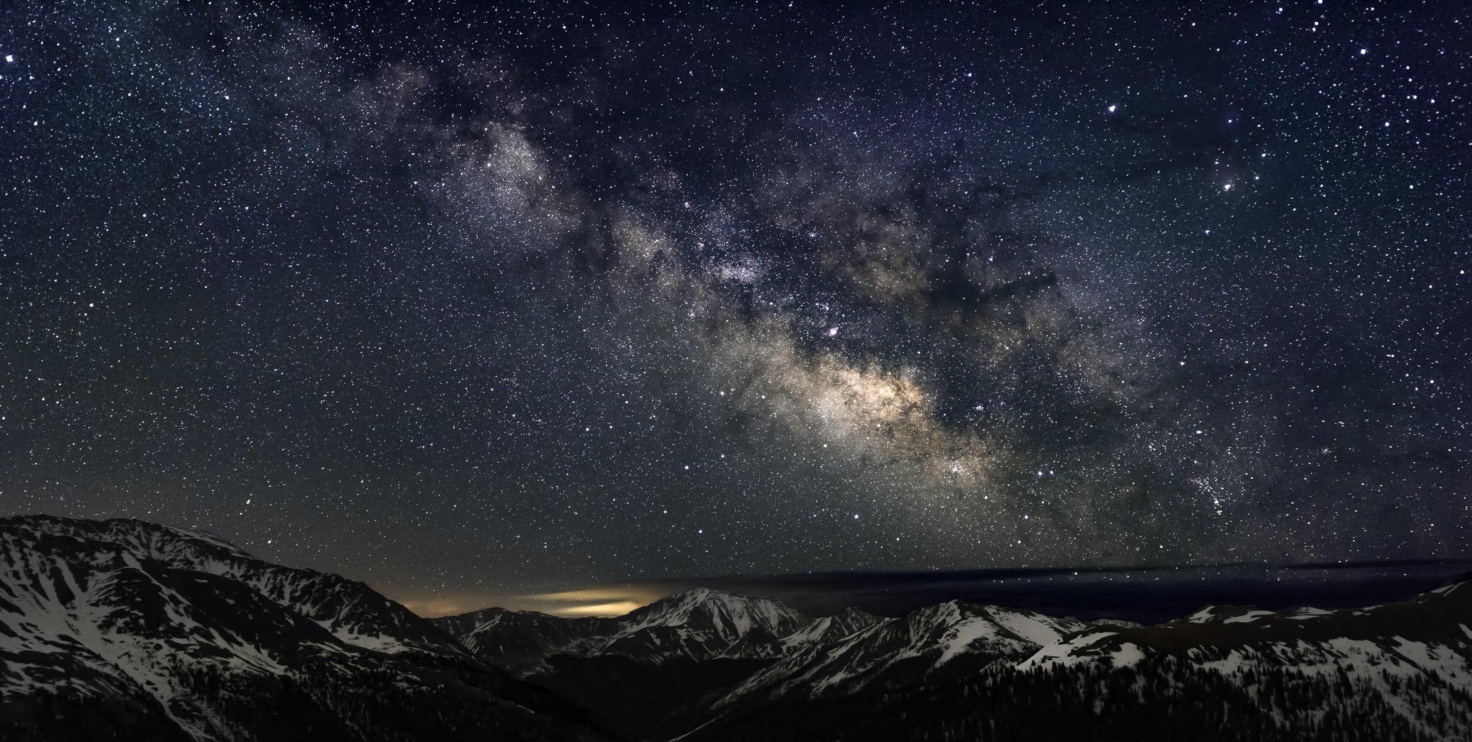The Milky Way, Independence Pass, Colorado