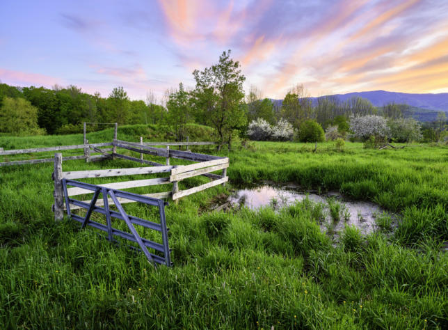 Spring Twilight, Waitsfield, Vermont