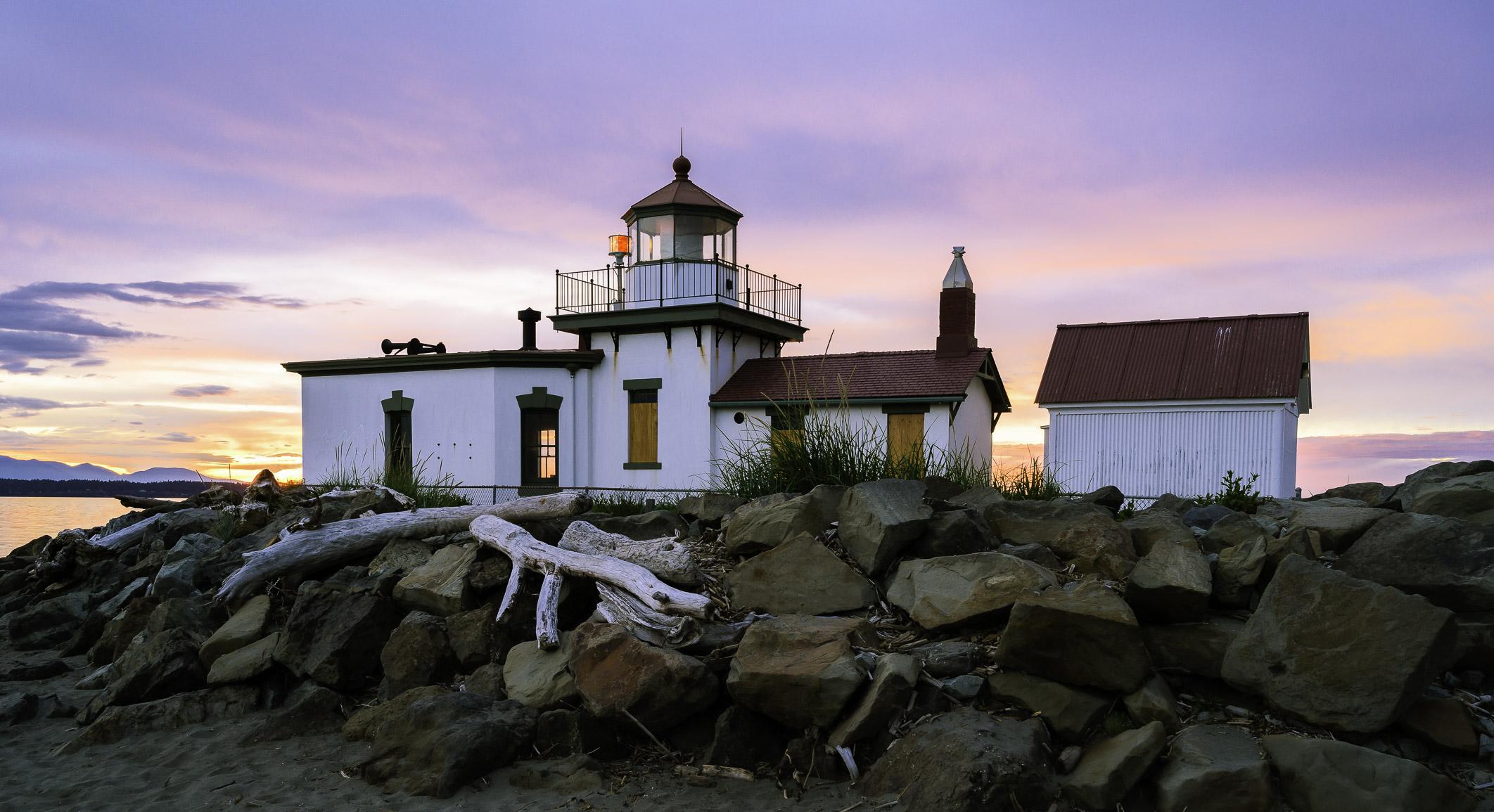 West Point Lighthouse, Seattle, Washington