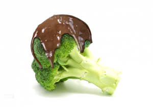 chocolate-covered broccoli