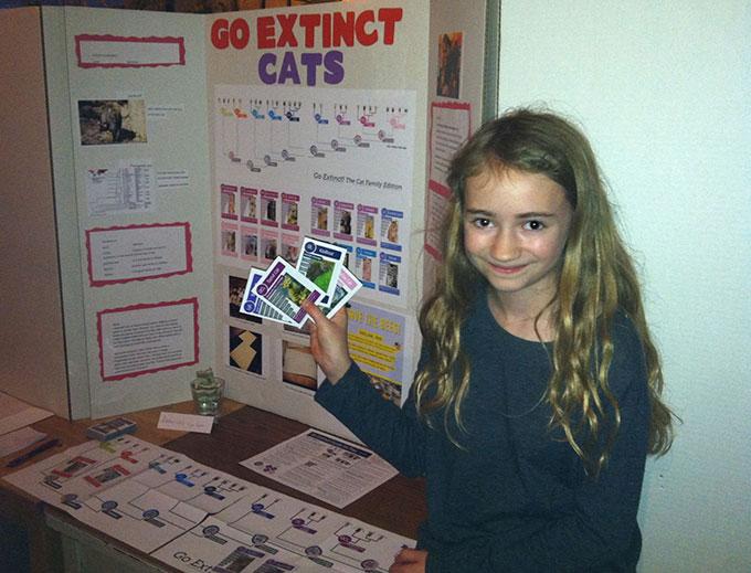 Student Poster Go Extinct