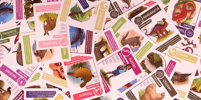Go Extinct Cards