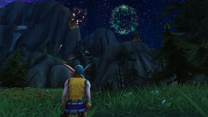 WoW Fireworks